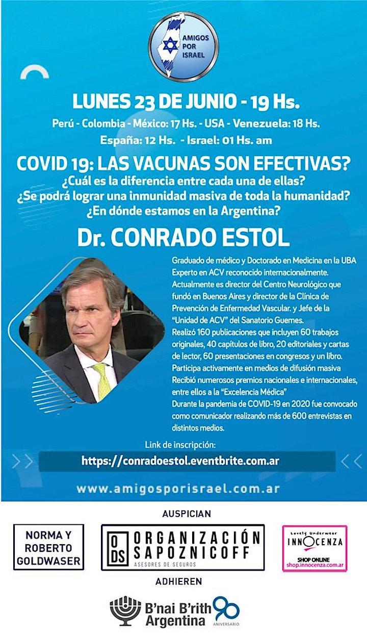 Imagen de CONFERENCIA CON EL DR CONRADO ESTOL