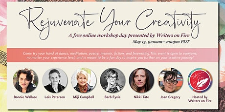 Rejuvenate your Creativity Workshop Day presented by Writers on Fire tickets