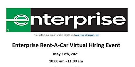 Enterprise Rent-A-Car Virtual Hiring Event tickets