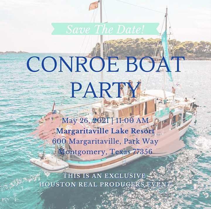 Houston Real Producers Boat Party in CONROE image