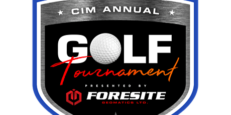 CIM Golf Tournament, presented by Foresite Geomatics Ltd. tickets