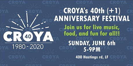 CROYA's 40th(+1) Anniversary Festival! tickets