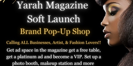 Yarah Solutions Soft Launch Brand Pop-Up Shop tickets