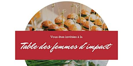 Réservation repas de la Rencontre des Femmes d'Impact billets