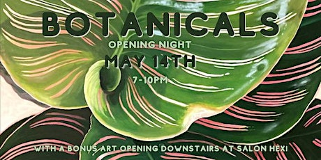 BOTANICALS In-Person Art Opening @ Fulton Street Collective tickets