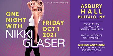Nikki Glaser: One Night With Nikki Glaser tickets
