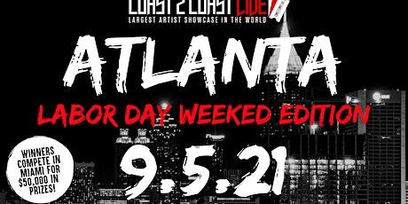 Coast 2 Coast LIVE Showcase Atlanta Labor Day - Artists Win $50K In Prizes tickets