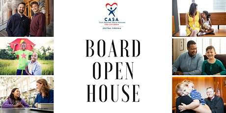 CASA Board Open House tickets