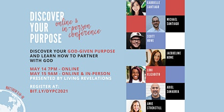 Discover Your Purpose Conference 2021 tickets