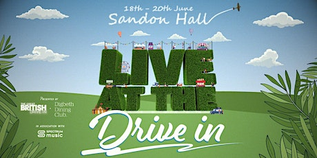 Live at the Drive In - Saturday: Afternoon tickets