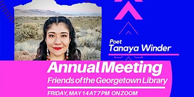 Tanaya Winder-Friends of Georgetown Library