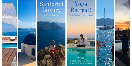 5 Day Santorini Yoga Retreat - Your Ticket to Adventure! biglietti