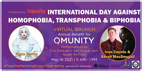 QMUNITY's Annual IDAHOT Virtual Brunch tickets