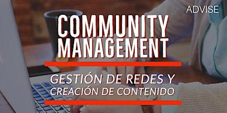 Curso: Community Management - Gestion de redes y contenido (online) entradas