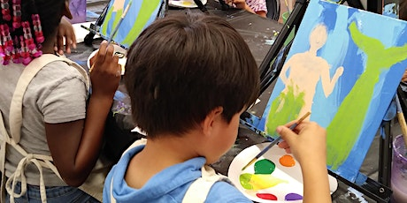 SUMMER ART CAMP 5: Paint Party -Painting Under the Stars (ages 5-7) tickets