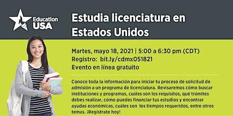 Estudia Licenciatura en Estados Unidos entradas