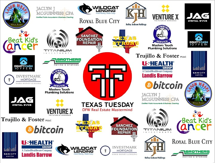 Texas Tuesday DFW RE Mastermind July MEET UP image