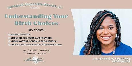 Understanding Your Birth Choices tickets