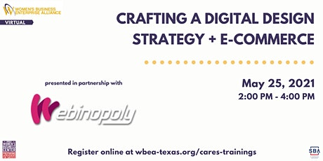 Crafting A Digital Design Strategy + E-commerce tickets