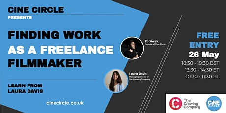 Finding Work as a Freelance Filmmaker tickets