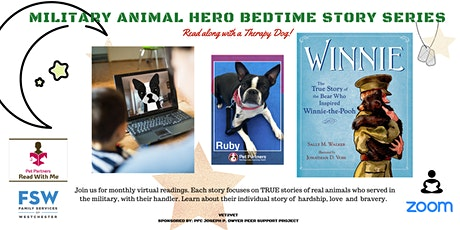 Military Animal Hero Bedtime Stories tickets
