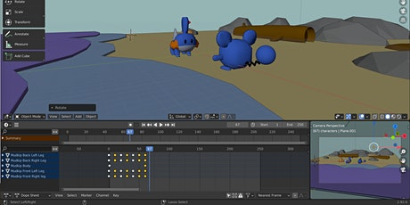 Intro to 3D Animation with Blender tickets