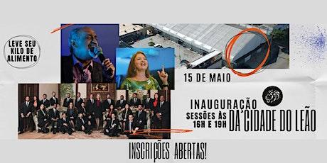 Grande Inauguração da Cidade do Leão! bilhetes