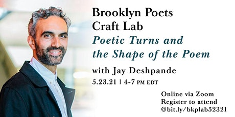 Brooklyn Poets Craft Lab: Poetic Turns and the Shape of the Poem tickets