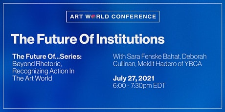 The Future of Institutions tickets