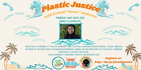 Plastic  Justice  with Kristal 'Ocean' Ambrose tickets