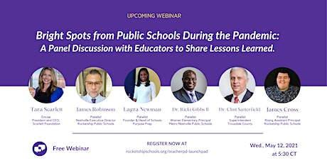 Bright Spots from Public Schools During the Pandemic: A Panel Discussion tickets