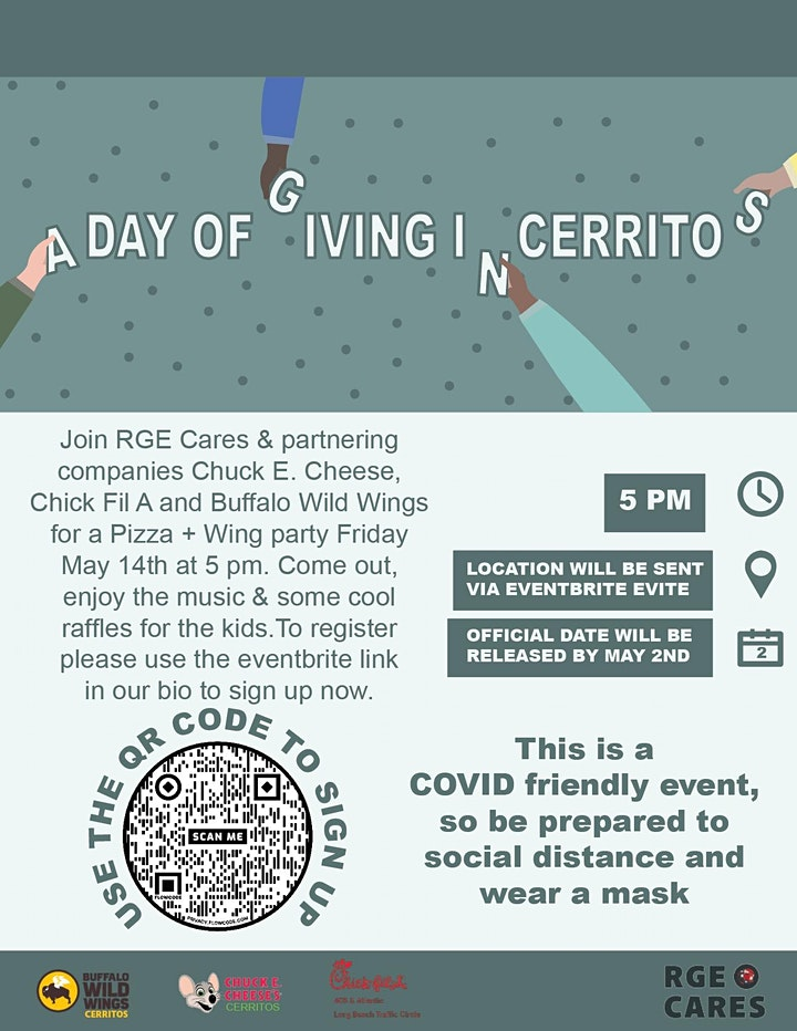 A Day of Giving in Cerritos Presented by RGE Cares image