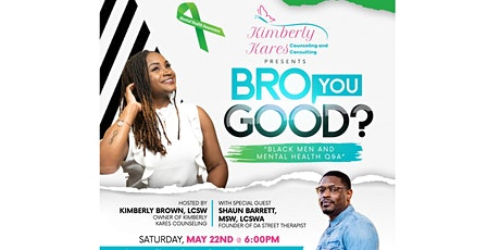 Bro, You Good? A Discussion on Black Men and Mental Health tickets
