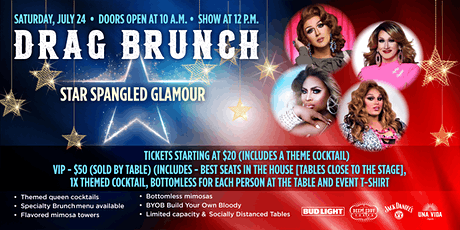 Drag Brunch: Star Spangled Glamour tickets