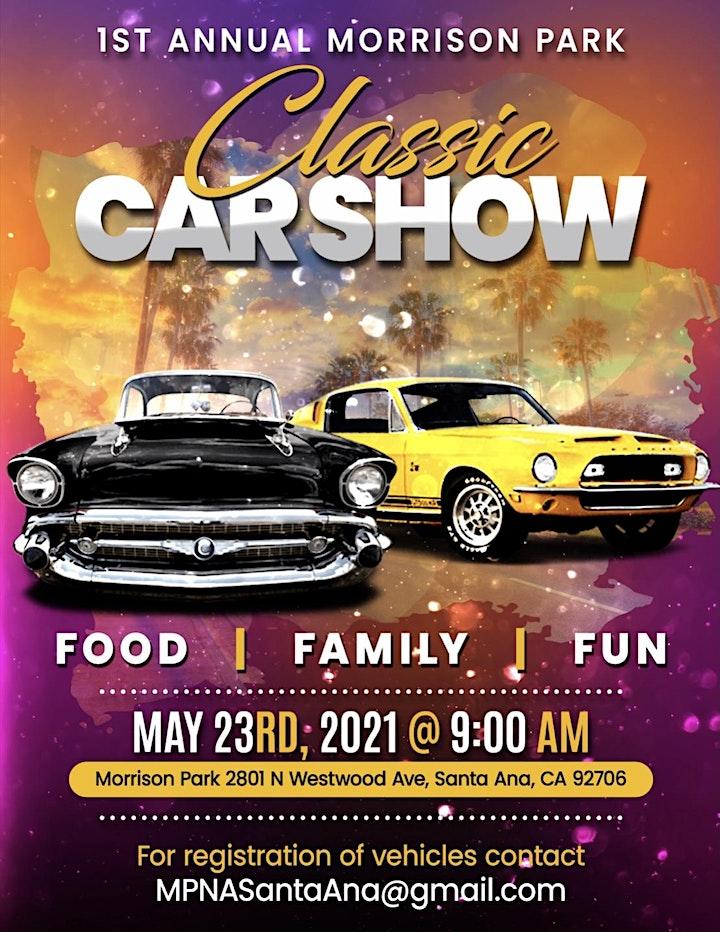 Morrison Park 1st Annual Car Show image