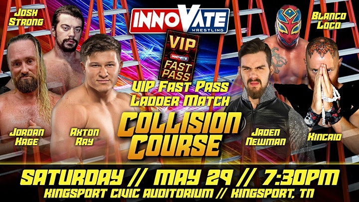 Innovate Wrestling Collison Course 2021 image