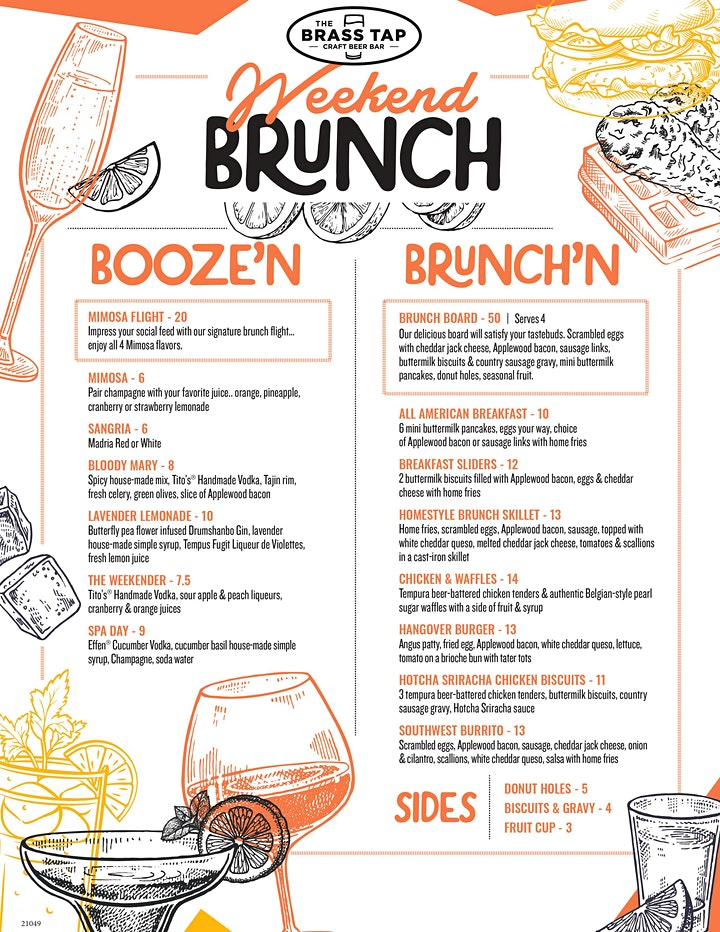 Sunday Jazz Brunch - PLEASE BOOK A RESERVATION AT OPENTABLE image