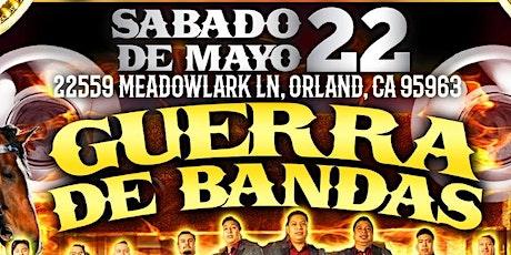 Guerra De Bandas tickets