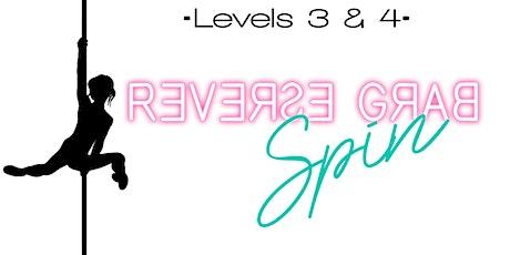 Monday 5/17--Levels 3 & 4 Intermediate/ advanced pole 7-8:30pm tickets