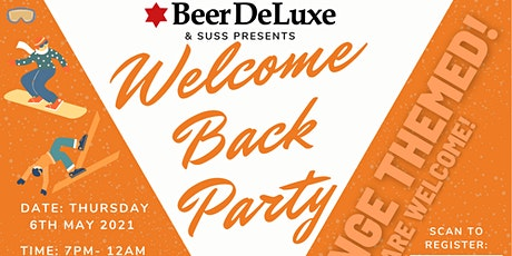 SUSS Welcome Back Party tickets
