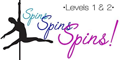 Thursday 5/20-- Levels 1 & 2  PoleLite 6:30-8pm tickets