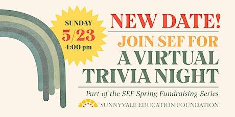 SEF Spring Fundraiser: Trivia tickets
