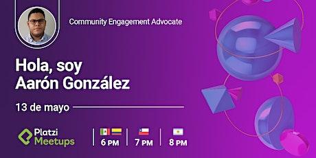 "Not Bots - ¡Hola¡ Soy Aaron González, Community Engagement Advocate"" entradas"