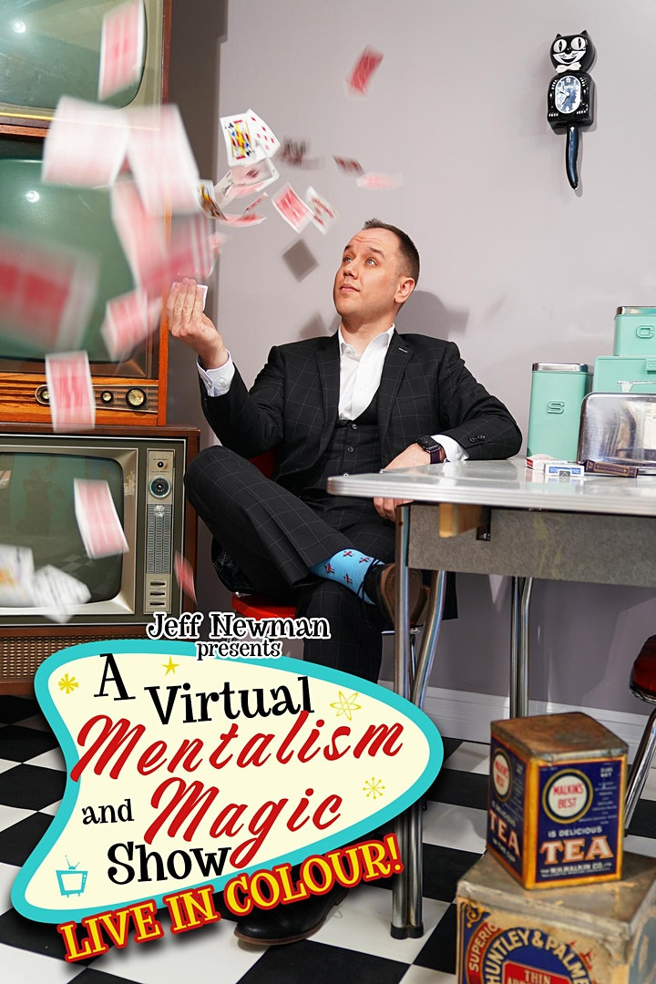 Jeff Newman: A Virtual Mentalism and Magic Show! image