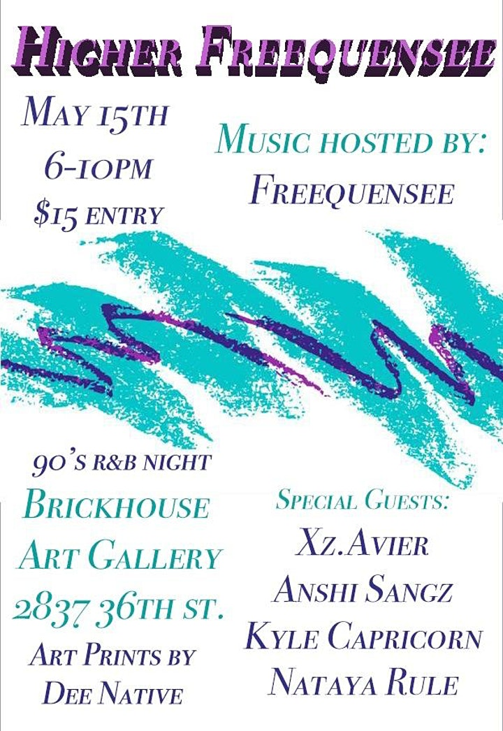 Higher Freequensee 90's R&B Night image