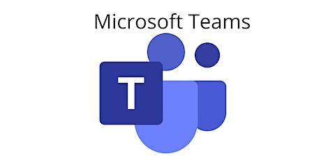 4 Weeks Microsoft Teams 101 training Course Haddonfield tickets