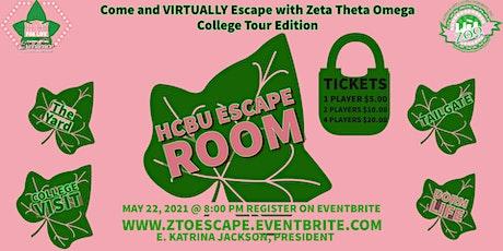 HBCU Escape Room tickets