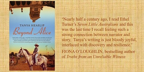 Beyond Alice author talk - an evening with Tanya Heaslip tickets