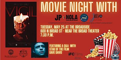 Movie Night with JP NOLA, JNEXT, and JNOLA tickets