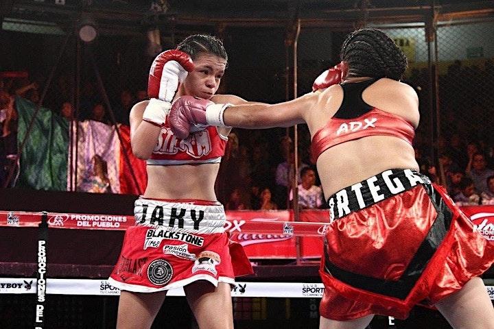 Jacky Calvo vs Leyrin Flores- International WBC Title image